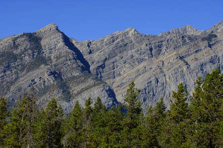 muz: Mountain backdrop Stock Photo