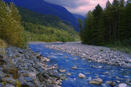 muz: A scenic mountain creek
