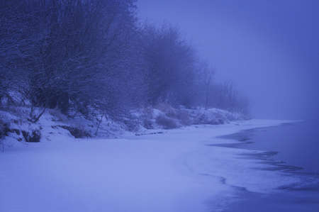 A beautiful winter scene Stock Photo - 6215917