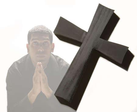 humility: Man praying