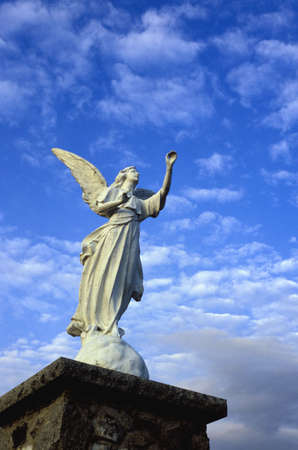 Statue of an angel photo