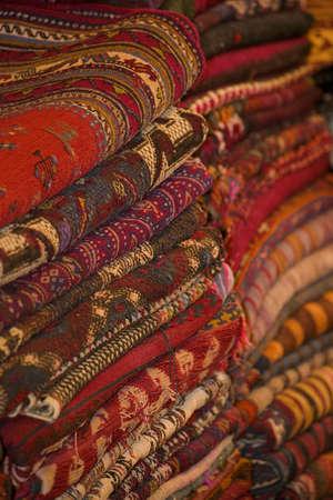 carson ganci: Stacks of carpets