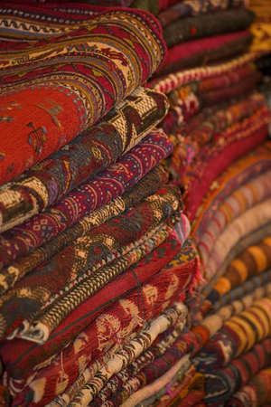 carson ganci: Stacks of carpets