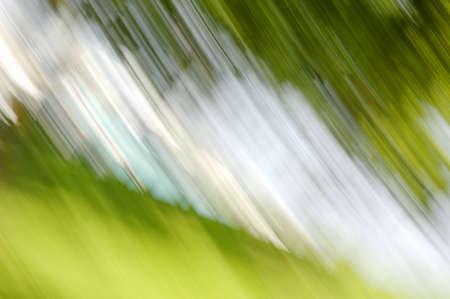 muz: Green and white background
