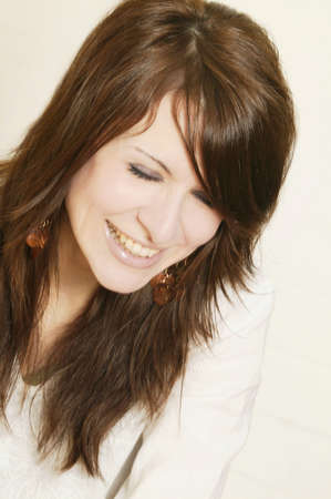 glubish: Portrait of a beautiful brunette woman