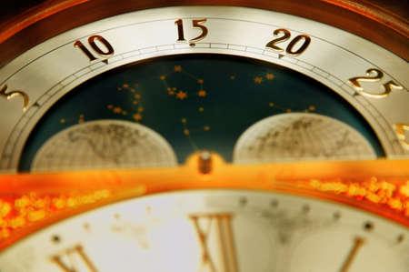 tanasiuk: Closeup of a clock Stock Photo