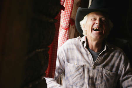 don hammond: An older man laughing