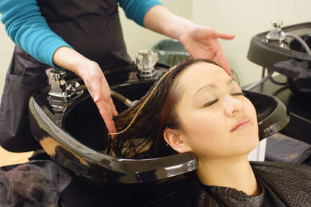 At the hair salon photo