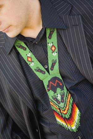 Aboriginal style tie Stock Photo - 5694647