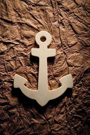 darren: Anchor on textured background