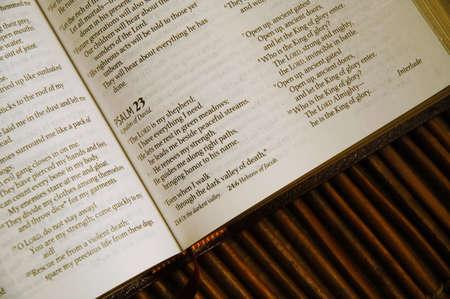 salmo: Salmo 23  Archivio Fotografico