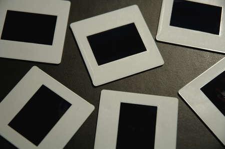 muz: Closeup of slides Stock Photo