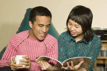 alan: Couple reading together