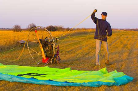 corey hochachka: Powered parachute or paraglider