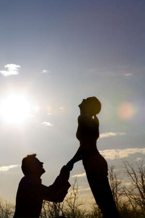 engagement silhouette: Proposal