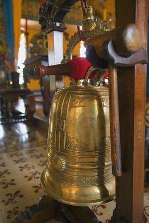 carson ganci: Bell at a Buddhist Temple