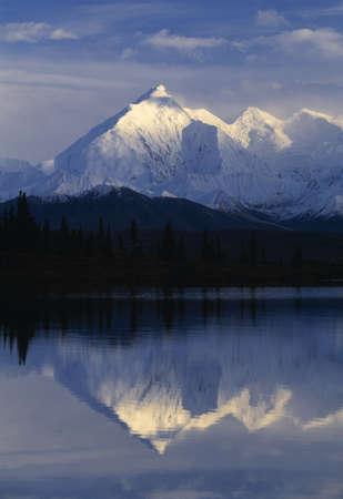 Scenic mountain lake Stock Photo - 6216917