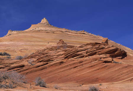 natural selection: Sandstone buttes