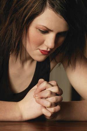 warkentin: A young woman praying