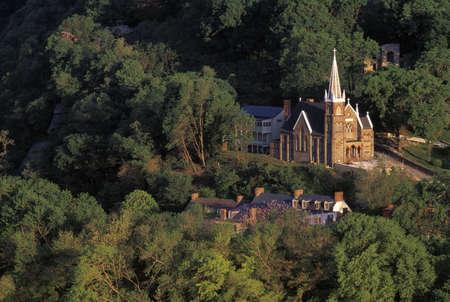 Church landscape Stock Photo