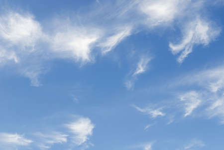 cirrus: Blue Skies Stock Photo