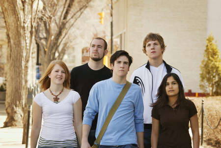 glubish: Group of young adults