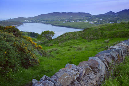 northern ireland: Scenic view of a village in Northern Ireland