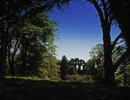 co  meath: The Jealous Wall, Belvedere House, County Westmeath, Ireland Stock Photo