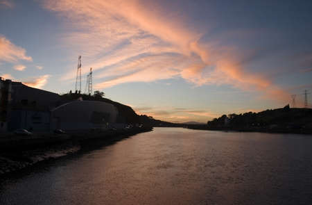 evenings: River Suir, Waterford City, Ireland