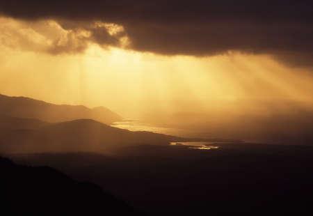 co cork: Co Cork, Mizen Head Peninsula, View from Mount Gabriel, Ireland