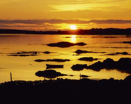 Co Galway, Ballyconneely Bay, Ireland photo