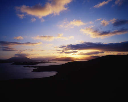 co  kerry: Sunbursts from Valentia Island, Douglas Head to Cahirciveen, Co Kerry, Ireland