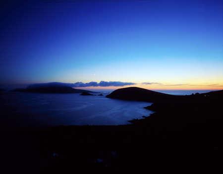 blasket islands: Sunset, Dunmore Head, Blasket Islands, Ireland