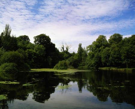 ri: Co Cavan near Kingscourt, Ladys Lake, Dun A Ri Forest Park, Ireland Stock Photo