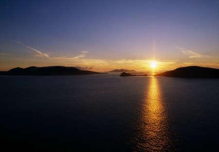 peninsula: Blasket Island in the Dingle Peninsula, Ireland Stock Photo