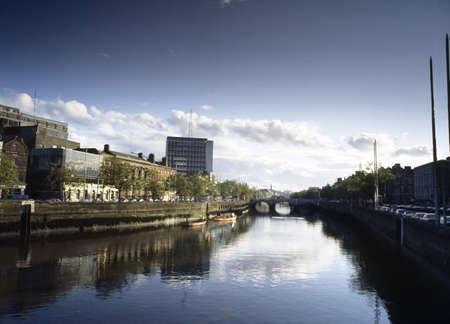 inland waterways: River Liffey, Dublin, County Dublin, Ireland