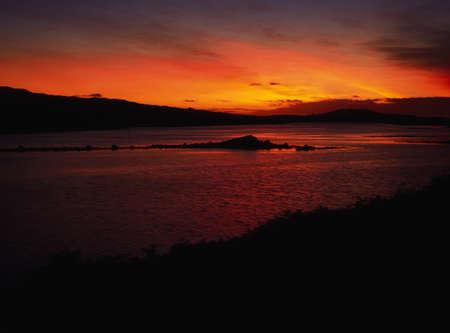 Ardbear 湾、クリフデン、コネマラ、Co ゴールウェイ、アイルランド 写真素材