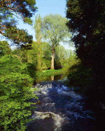 co  meath: Co Offaly, River Camcor, Ireland Stock Photo