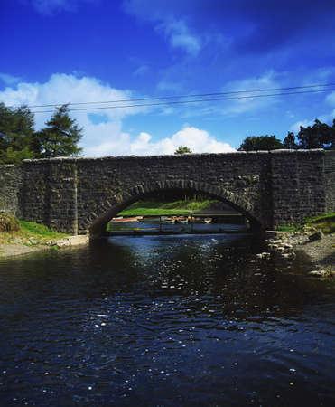 co  meath: Co Westmeath, Bridge of Finnea site of a Cromwellian Battle, Ireland