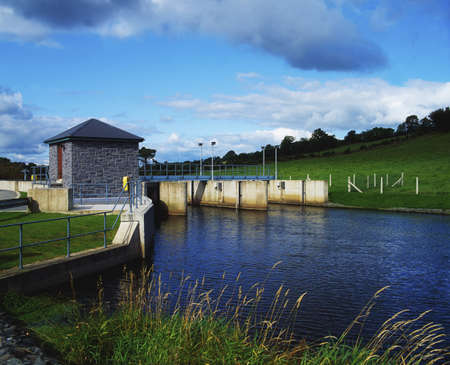 Raised water level of Lough Muckno, Co Monaghan, Ireland Stock Photo - 7188311
