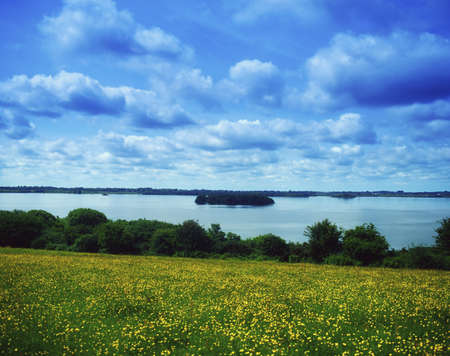 lough: Lough Owel, Co Westmeath, Ireland Stock Photo