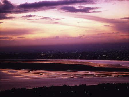 arial views: Dublin Bay, Ireland