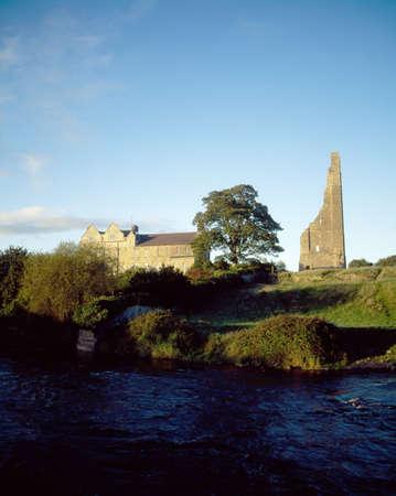 Yellow Steeple, Trim, Co Meath, Ireland Stock Photo - 7188050