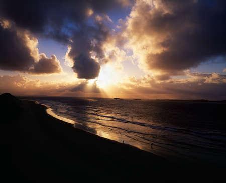 Sunset near Portrush, Co Antrim, Ireland Stock Photo - 7188624