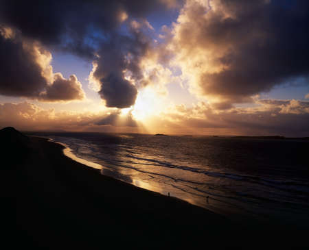 Sunset near Portrush, Co Antrim, Ireland