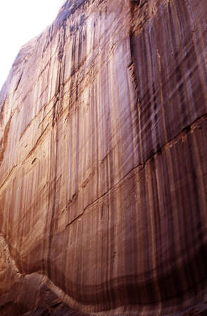 lake powell: Lake Powell, Arizona, USA; Sandstone rock face