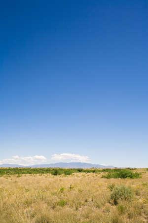 raniszewski: New Mexico, USA; Desert landscape with the Manzano Mountains in the background