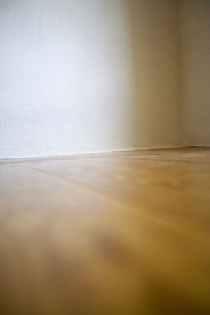 raniszewski: Empty room with wooden floors and white walls