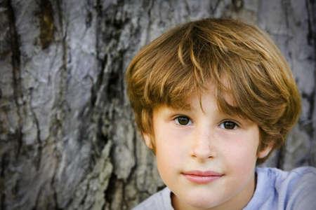 pre teen boys: Portrait of boy Stock Photo