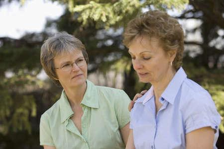 companions: Two women